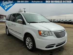 2016 Chrysler Town & Country Limited | DVD | Leather | PST Paid