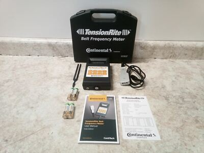 Continental Frequency Meter Tensionrite Belt Frequency Meter
