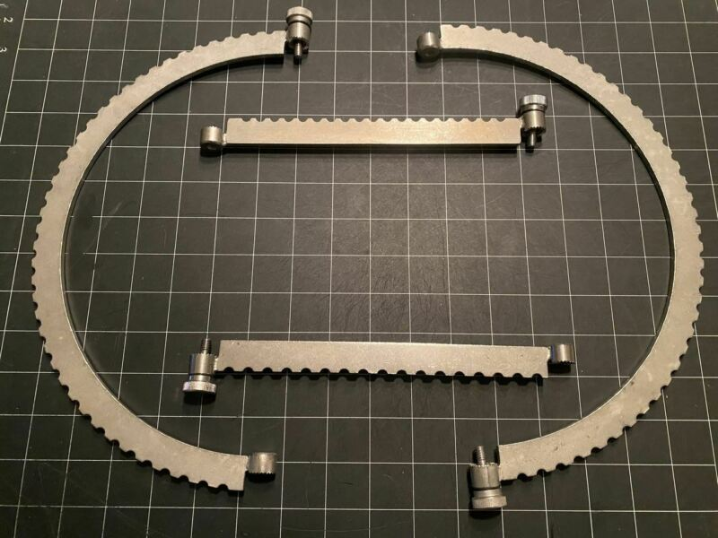 Codman 50-4583 Bookwalter Segmented Ring, Medium