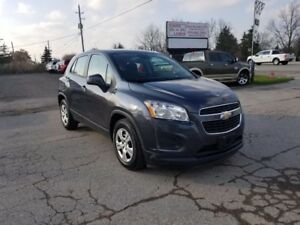 2014 Chevrolet Trax LS ONLY 32KM EXTENDED FACTORY WARRANTY!