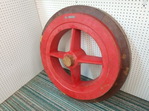 Vintage Industrial Wooden Foundry Mold Pattern wheel Form casting steampunk art