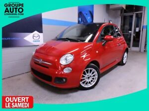 2012 Fiat 500 SPORT TOIT MAGS BLUETOOTH ECONOMIC CAR