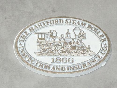 HARTFORD STEAM BOILER 1866 RAILROAD Vintage RUBBER FRIDGE MAGNET Standings Board