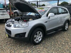 2012 Holden Captiva CG Series II 7 SX Wagon 7st 5dr Spts Auto 6sp 2.2DT (FWD) Silver