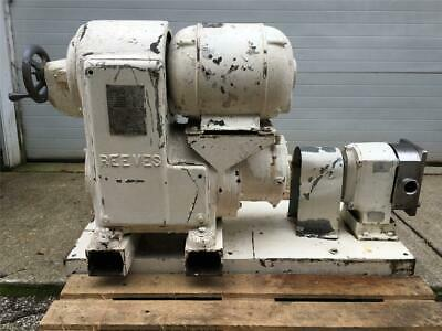 Crepaco A3 1 Positive Displacement Five Lobe Pump Wvariable Speed Drive