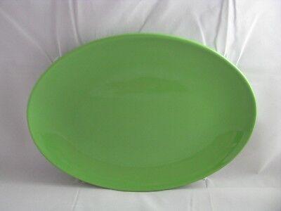 Green Apple Oval Serving Platter 13