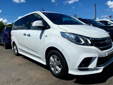 2020 LDV G10 SV7A Executive Blanc White 6 Speed Sports Automatic Wagon West Tamworth Tamworth City Preview