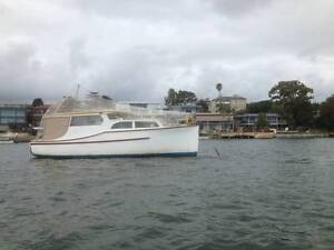 25 FT Timber Cruiser, 3 1/2 Berth with Yanmar Diesel Sans Souci Rockdale Area Preview