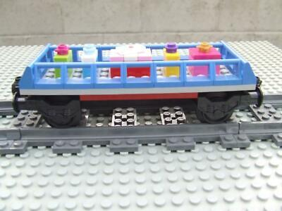 New Lego Christmas Holiday Train Car Built with New Lego Bricks/ Parts (Moc)