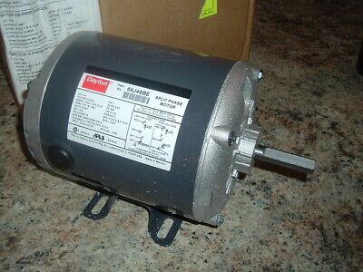 New 6xj46be Dayton 14 Hp Split Phase Motor 1725 1425 Rpm 110 220 Volt
