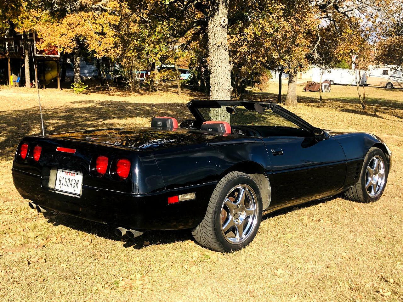 1991 Black Chevrolet Corvette Convertible  | C4 Corvette Photo 4