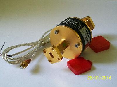 Hughes Millitech 26-40 Ghz Ka Band Microwave Millimeter Ferrite Modulator Wr28