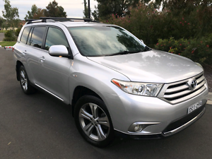 TOYOTA KLUGER KXS 2011 AWD ONE YEAR REGO LOGBOOKS MAJOR SERVICE Prospect Blacktown Area Preview