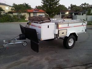 WA made Redtrack series 2 Offroad Camper trailer with hard floor Balcatta Stirling Area Preview