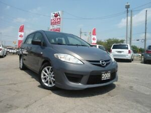 2009 Mazda MAZDA5 AUTO 6 PASS NO ACCIDENT SAFETY  A/C PW PL PM R