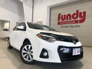 2015 Toyota Corolla S ONE LOCAL OWNER