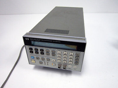 Hp Agilent 8904a Multifunction Synthesized Generator Option 001