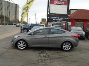 2013 Hyundai Elantra Limited/ LOADED / LEATHER / ROOF / HEATED S