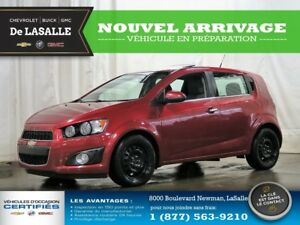 2012 Chevrolet Sonic LT Low Milleage//One Owner//Sunroof//