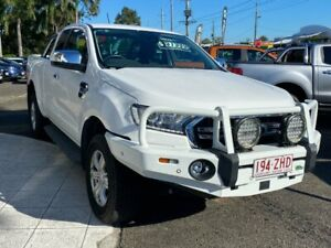 2019 Ford Ranger PX MkIII 2019.75MY XLT White 6 Speed Sports Automatic Super Cab Pick Up