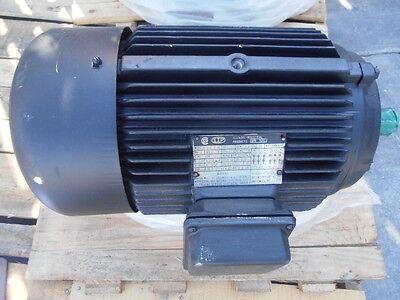 Iip Electric Motor 10hp 3525 Rpm 60hz 230460v