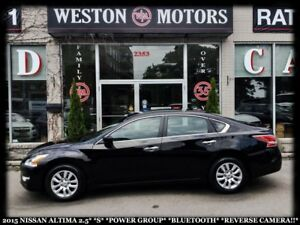2015 Nissan Altima 2.5 S*POWER GROUP*BTOOTH*REVERSE CAMERA*LOW K