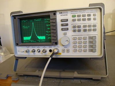 Hp Agilent 8560e Spectrum Analyzer 30 Hz -2.9 Ghz Calibrated W Nist Cert