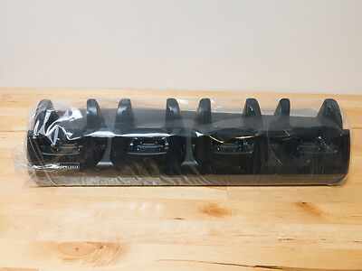 New Psion Teklogix Px3004 Four Slot Barcode Scanner Desktop Dock And Charger