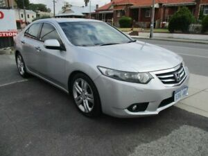 2012 Honda Accord Euro CU MY12 Luxury Silver 5 Speed Automatic Sedan West Perth Perth City Area Preview