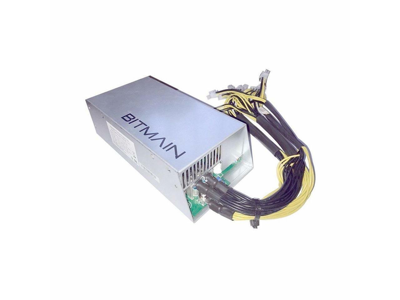 1600W AntMiner APW3++ PSU Power Supply for Antminer Bitcoin S9 S7 L3+ D3 ETH