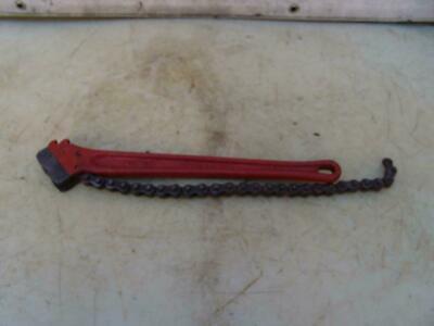 Ridgid Chain Pipe Wrench C-18 Great Shape 1