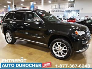 2014 Jeep Grand Cherokee Summit AWD, SUSPENSION À AIR, NAVIGATIO