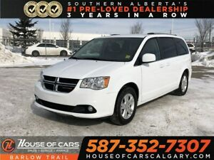 2018 Dodge Grand Caravan Crew+ / Heated Leather seats / Back up