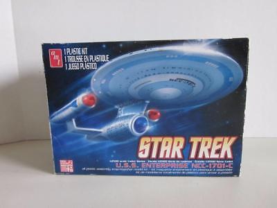 AMT Star Trek U.S.S. ENTERPRISE NCC-1701-C Model Kit NIP 2012  1:2500 Scale