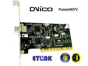 Brand new DViCo FusionHDTV DVB-T Dual Digital 4 - PCI TV Tuner Card