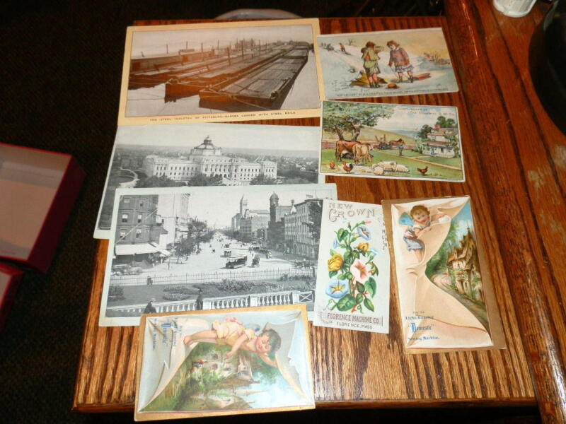 #9413,Estate Collection Victorian Trade Cds-Sewing Machines