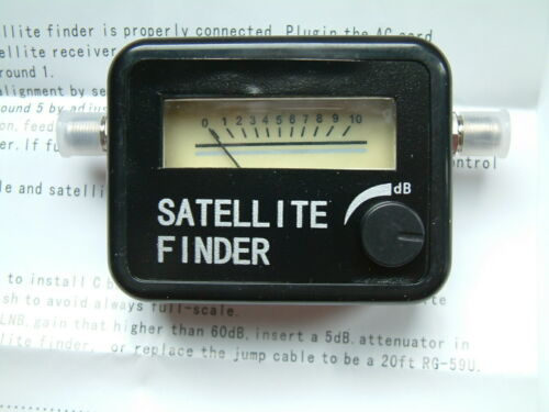 NEW Stere #200-992 Satellite signal meter 950-2100 Mhz--Great for Any Satellite