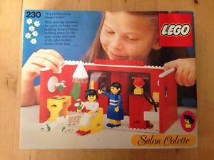 "1978 Vintage Lego ""Salon Colette"" Made in Denmark - Never Opened! Adelaide CBD Adelaide City Preview"