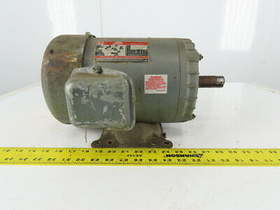 Dayton 3n556a 0 3hp Electric Motor 208-230460v 3 Ph 1740rpm F182t Frame