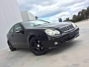 2005 Mercedes-Benz C200 Coupe - Inc new RWC & Rego Footscray Maribyrnong Area Preview