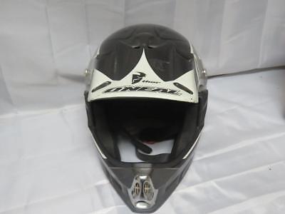 O/'Neal Moto XXX Fiberglas Helm Schwarz Rot Multi MX DH Moto Cross Enduro Offroad