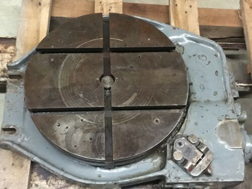 "Kearney & Trecker Corp. 16"" Rotary Table"