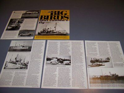 VINTAGE..BIRD CLASS MINESWEEPERS HISTORY...HISTORY/PHOTOS/DETAILS..RARE! (498S)