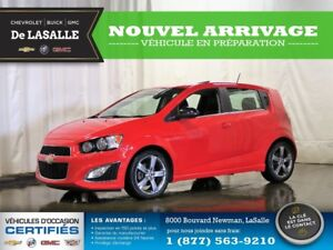 2016 Chevrolet Sonic RS AUTOMATIQUE