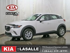 2018 Mazda CX-3 GS // AWD // Camera // Sieges Ch.// Bluetooth //