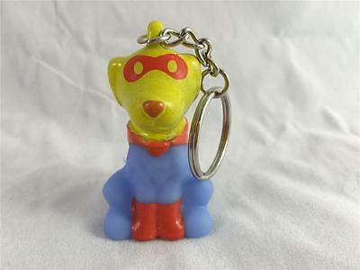 New American Heart Association Super Dog Pup Keychain Collectible