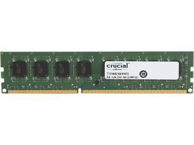 Brand New Crucial By Micron 8Gb Ram Memory Ddr3l 1600 Unbuffered Ct102464bd160b