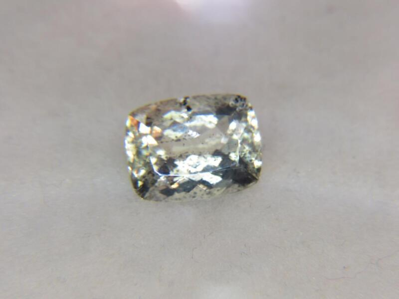 6.16CT STUNNING UNTREATED NATURAL UNTREATED LIGHT YELLOW TANZANIAN SCAPOLITE