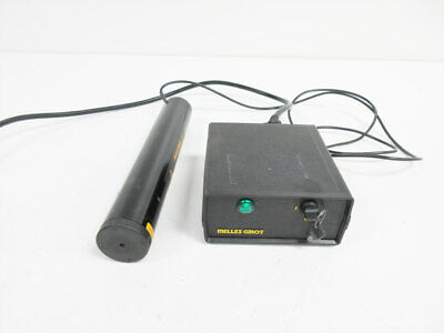 Melles Griot 05-lhr-111 Laser Head 2 Mw With 05-lpl-911-065 Power Source
