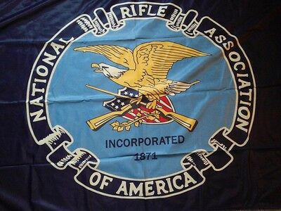 Official Nra Flag 3X5 National Rifle Association Flag Usa